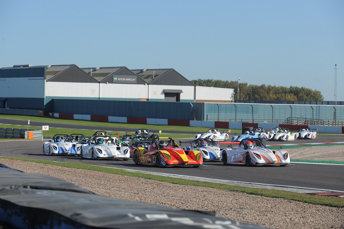 Superb Stoney seals Radical SR1 Cup title with Donington double