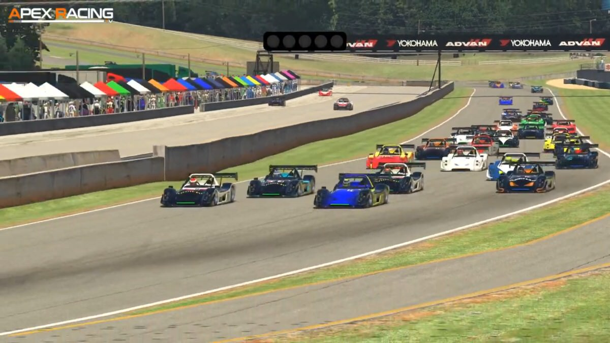 Inaugural Radical Cup iRacing Invitational is a resounding success