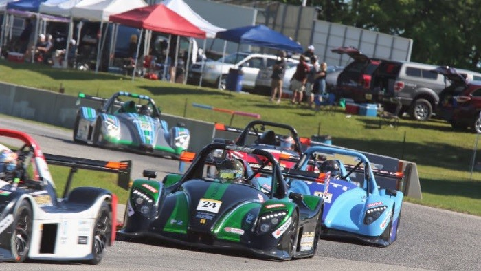 Blue Marble Radical Cup revs up for Road America and Barber