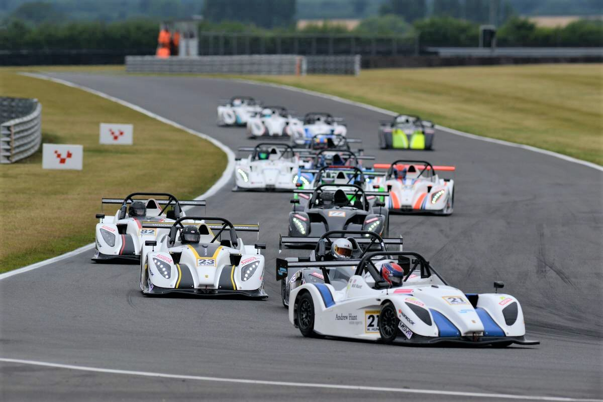 Radical SR1 Cup Leads UK Motorsport Back Onto The Track