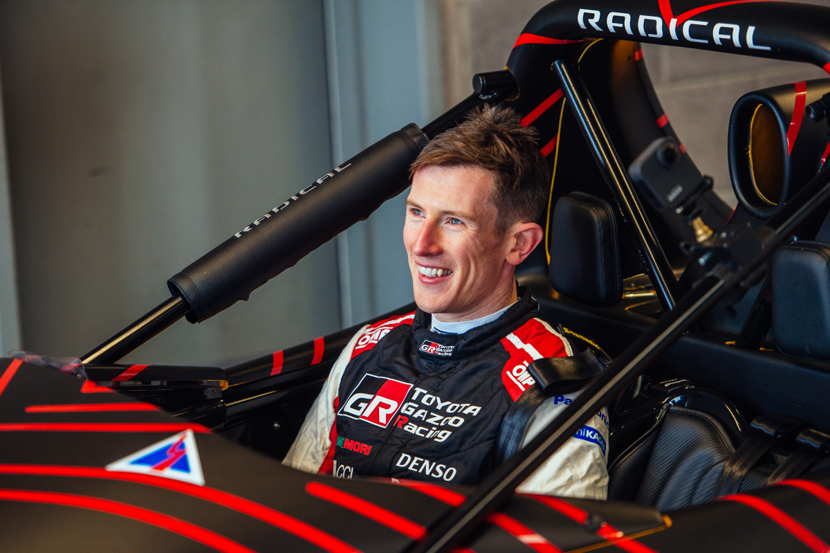A whole new world: WRC star Elfyn Evans experiences Radical SR3XX at Anglesey