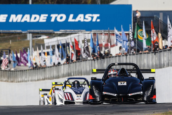 Jon Field (#37) won two races at Road Atlanta and finished second in the MASTERS championship