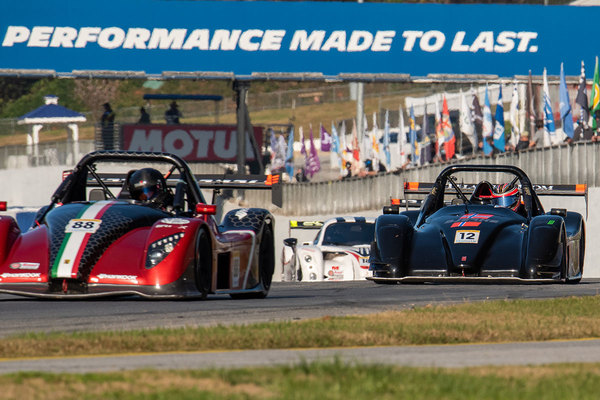 Road Atlanta saw a number of newcomers including Ryan Kelly (#88) and Ryan Bjerke (#12)