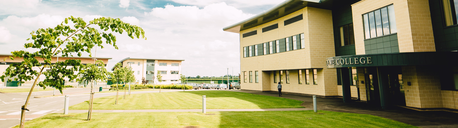 The new Riseholme College Showground Campus in Lincoln