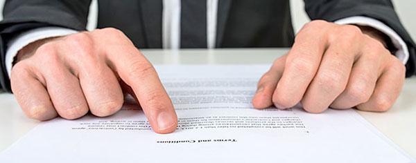 Contract with the right customer