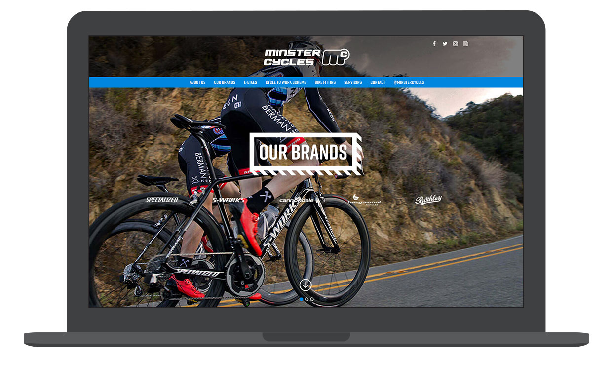 Minster Cycles website