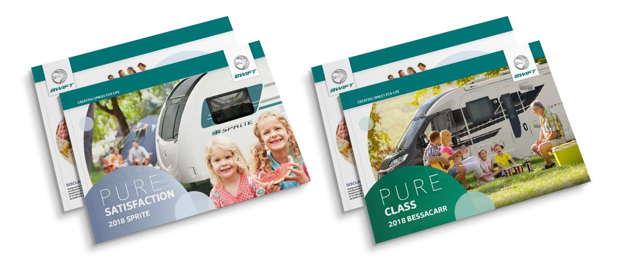 Sterling Caravan Brochure