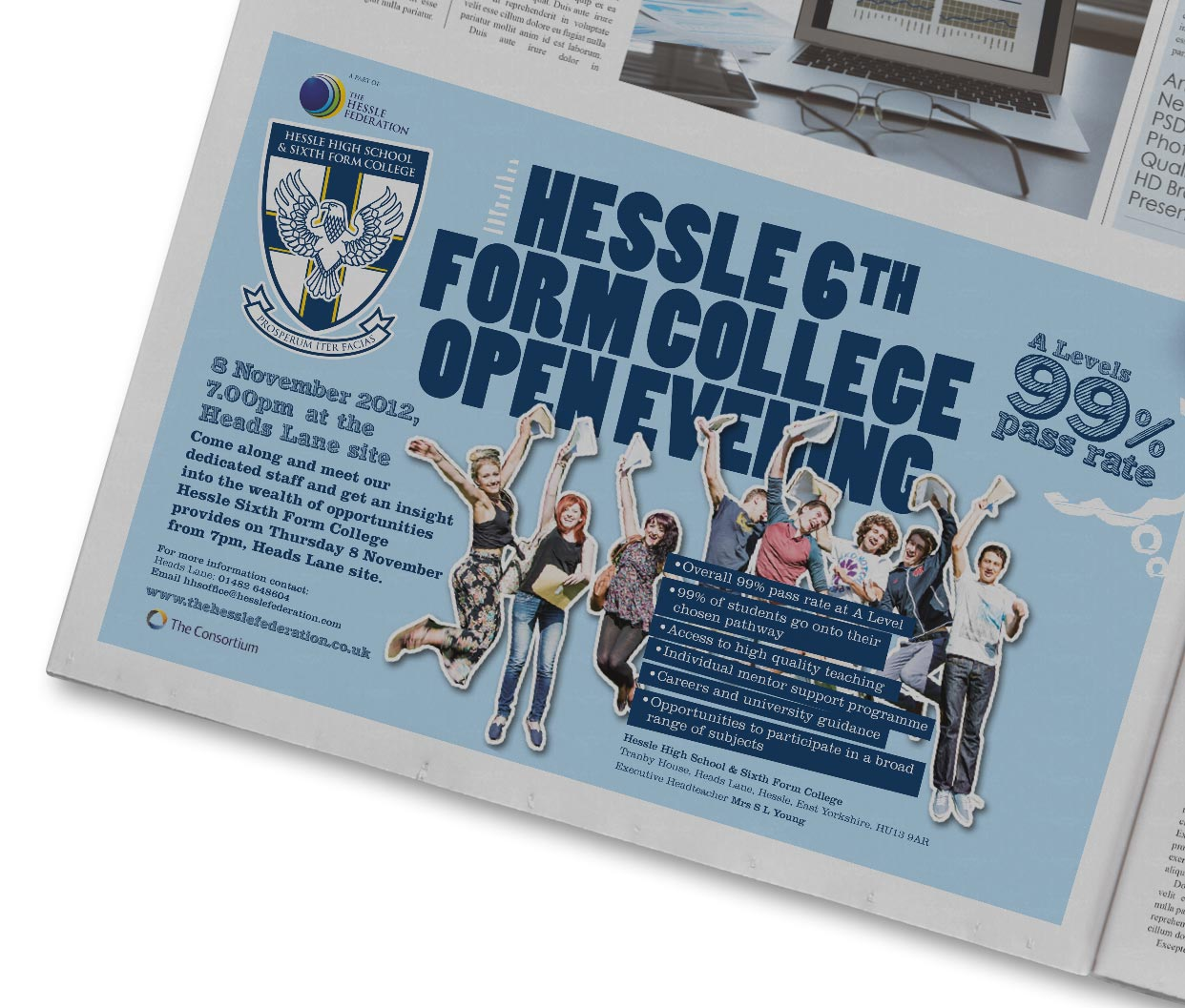 Press Ad - College Open Evening
